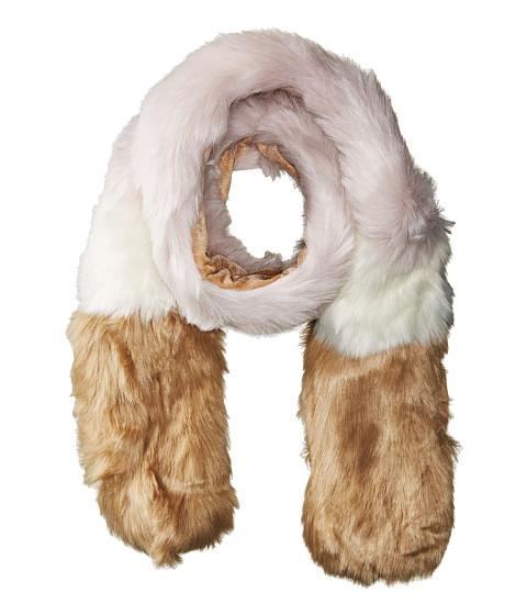 Hat Attack Faux Fur Scarf - Blush