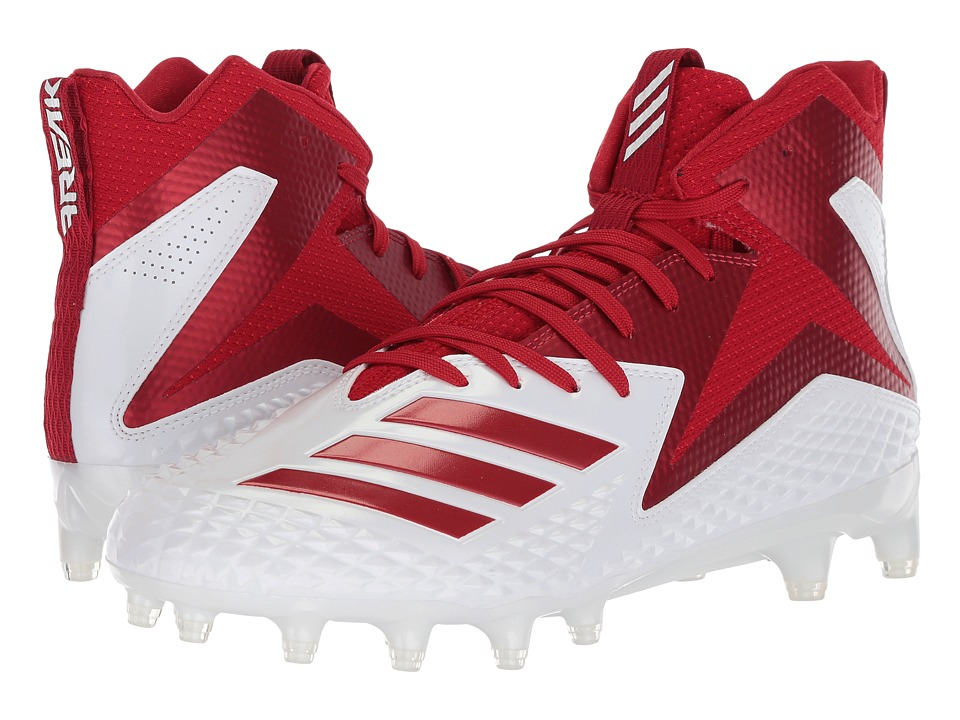 Adidas Freak x Carbon Mid (Footwear White/Power Red/Power...