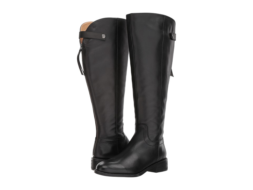 Franco Sarto Brindley Wide Calf (Black Bally Leather) Women