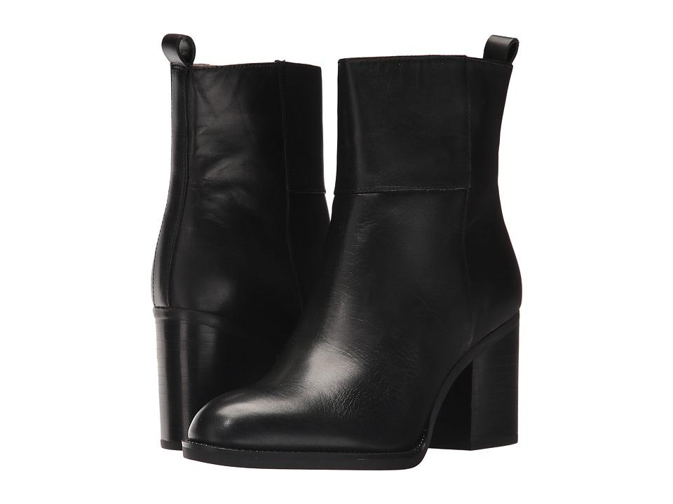 Franco Sarto Owens (Black Bally Leather) Women