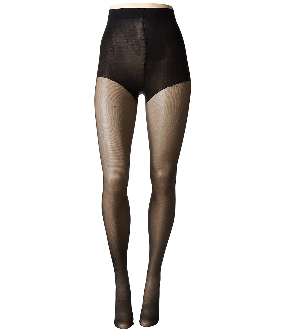 Natori - Dragon Sheer Tights (Black) Hose