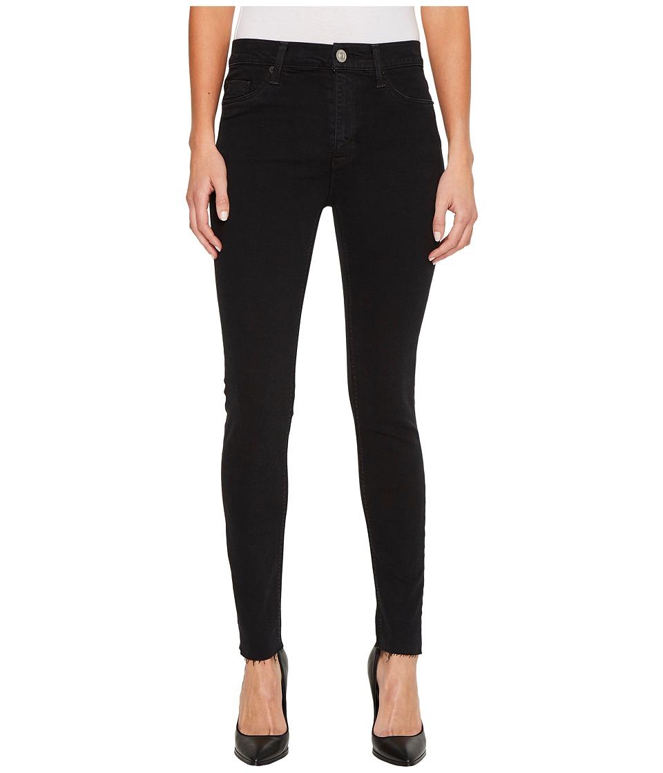 Hudson Barbara High-Waist Ankle Raw Hem Skinny Jeans in Maniac (Maniac) Women