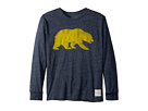 The Original Retro Brand Kids Cal Bears Mocktwist Long Sleeve Tee (Big Kids)