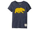 The Original Retro Brand Kids Cal Bear Mocktwist Tee (Little Kids/Big Kids)