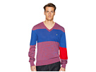 Vivienne Westwood Colorblock V-Neck Sweater