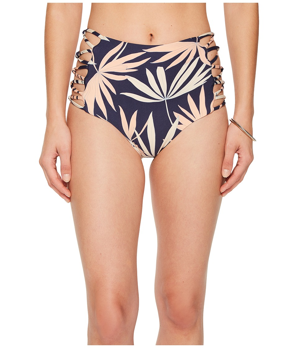 L*Space Polynesian Palm Tripp Bitsy Bottom (Navy)