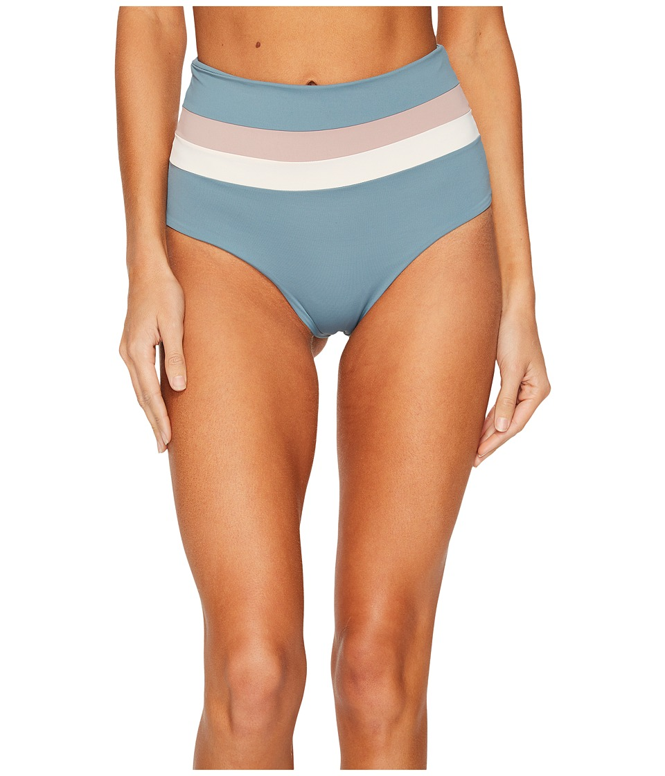 L*Space Color Block Rebel Stripe Portia Bottom (Slated Glass)