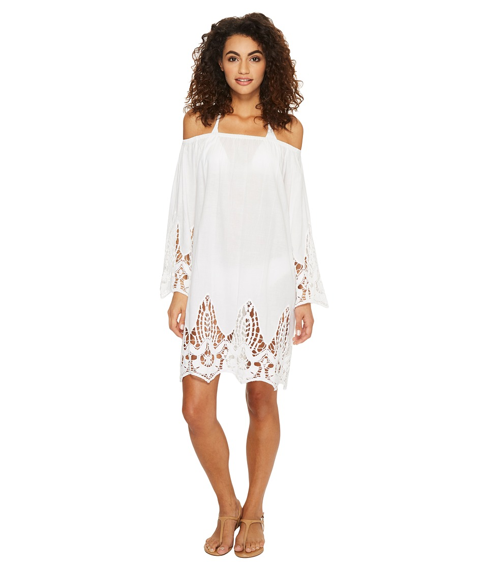 Athena Mystique Off the Shoulder Tunic (White) Women