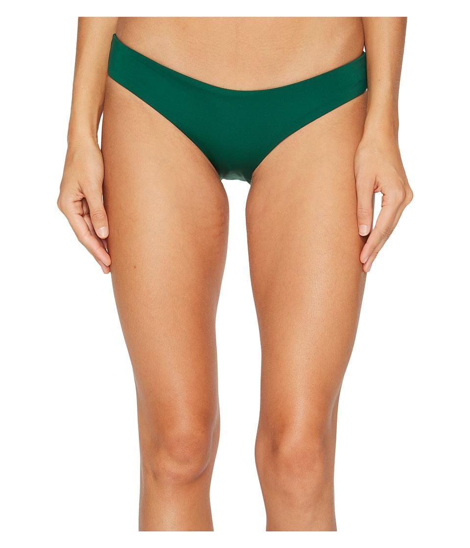 L*Space Sensual Solids Sandy Bottom (Emerald) Women