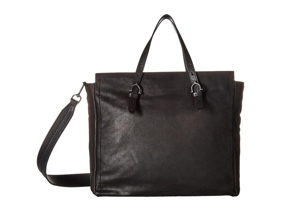 Lucky Brand Aden Tote (Black) Tote Handbags