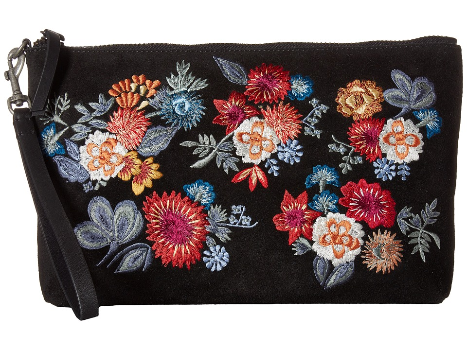 Lucky Brand - Superbloom Clutch (Florial Embroidery) Clutch Handbags