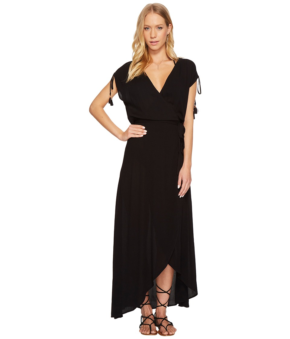 L*Space Wrapper Dress Cover-Up (Black)