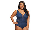 BECCA by Rebecca Virtue BECCA by Rebecca Virtue Plus Size Color Play Plunge One-Size