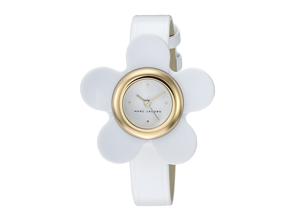 Marc Jacobs Daisy - MJ1594 (Gold/White) Watches