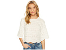 Bishop + Young Crochet Scallop Edge Top