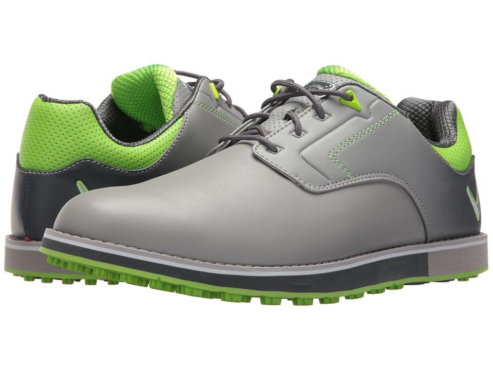 Callaway - La Jolla SL (Grey/Lime) Mens Golf Shoes