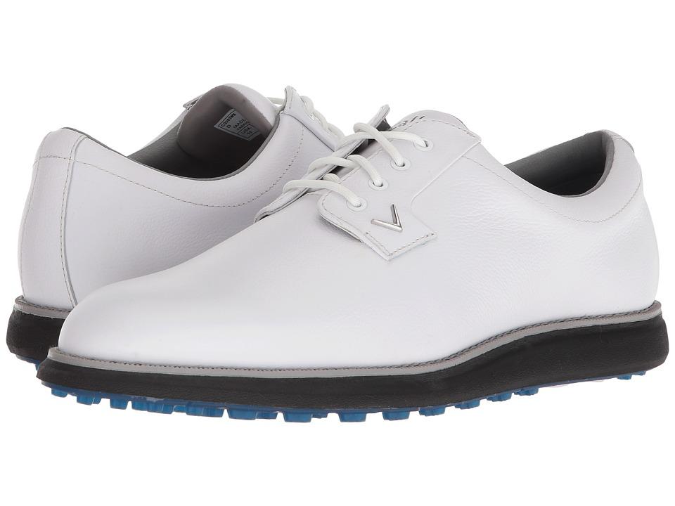 Callaway - Swami 2.0 (White/Blue) Mens Golf Shoes