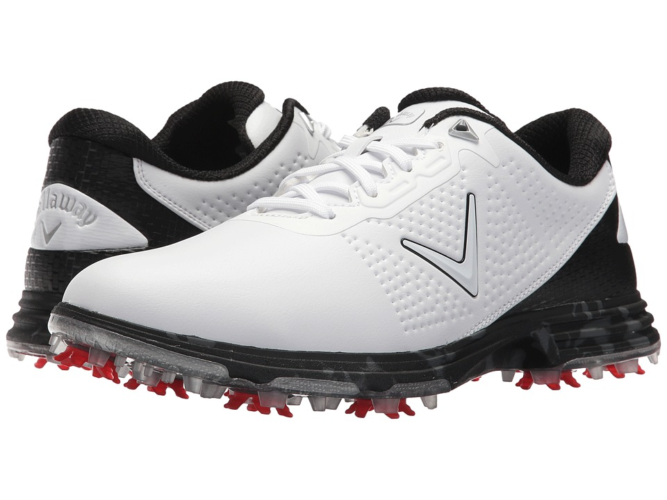 Callaway - Coronado - Fairways For Warriors (White/Multi) Mens Golf Shoes