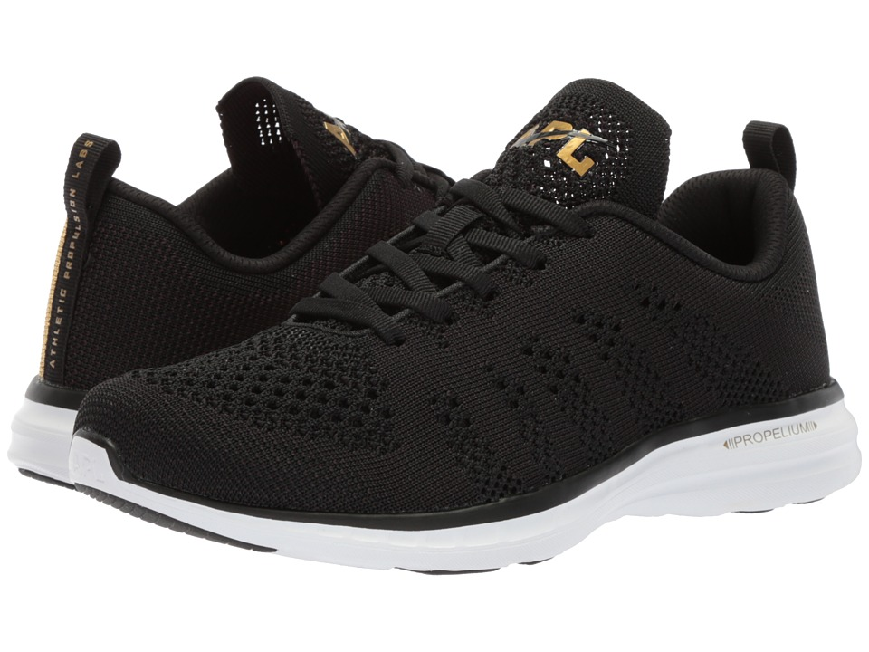 Athletic Propulsion Labs (APL) - Techloom Pro (Black/24k Melange) Womens Shoes