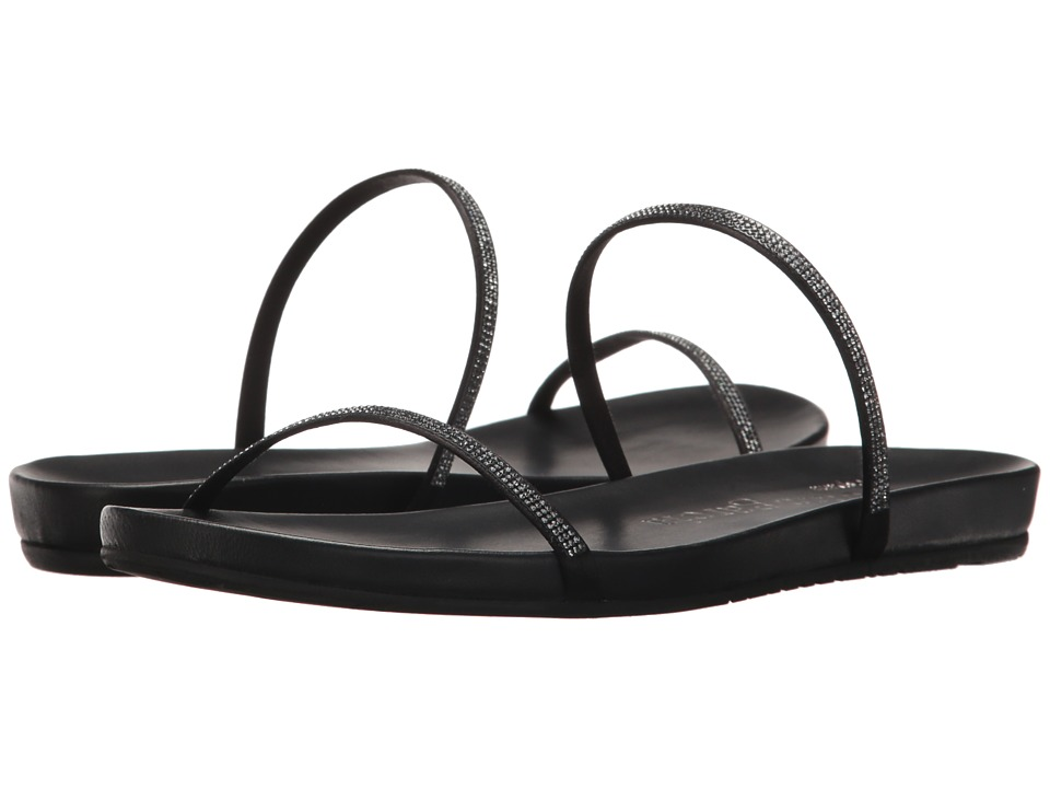 Pedro Garcia - Georgina (Black Satin) Women's Sandals