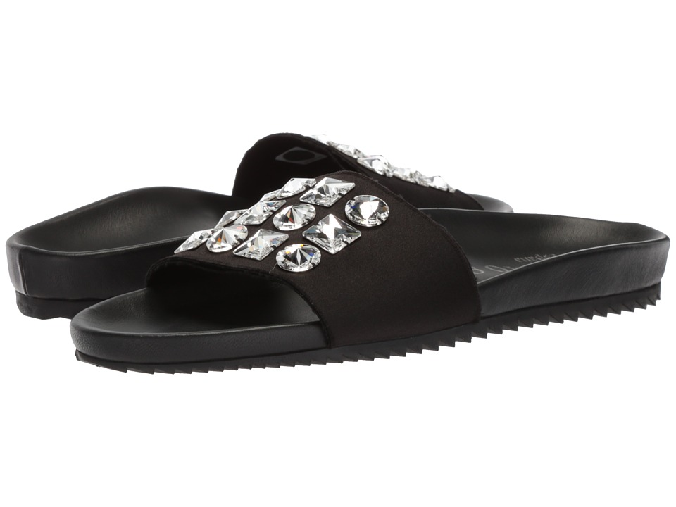 Pedro Garcia - Amery (Black Satin) Women's Sandals