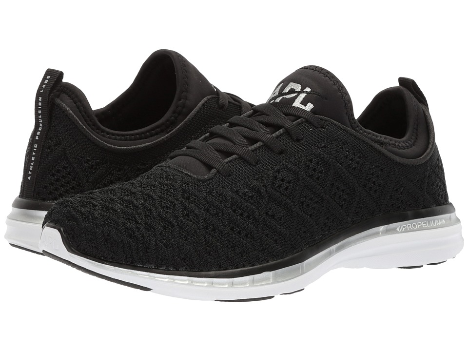 Athletic Propulsion Labs (APL) Techloom Phantom (Black/Metallic Silver) Women's Shoes