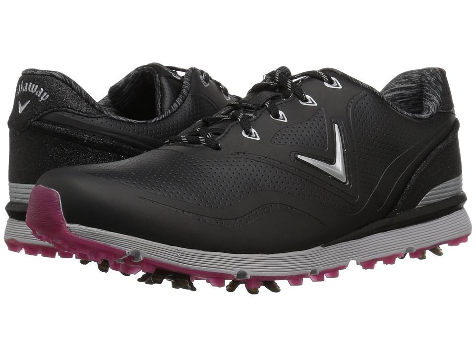 Callaway - Halo (Black) Womens Golf Shoes