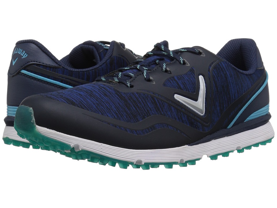 Callaway Solaire (Navy/Blue) Women's Golf Shoes