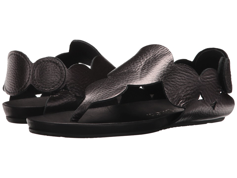 Pedro Garcia - Jamee (Antracite Cervo Lame) Women's Sandals