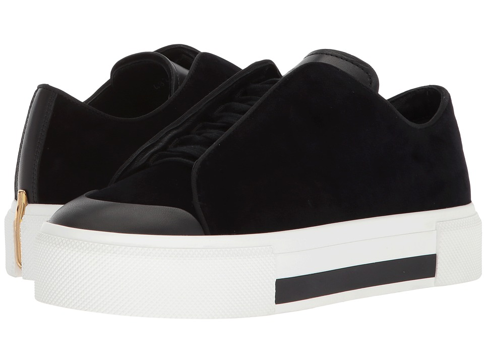 Alexander McQueen - Low Cut Lace-Up Sneaker (Black/Black/Black/Black/Gold) Womens Lace up casual Shoes