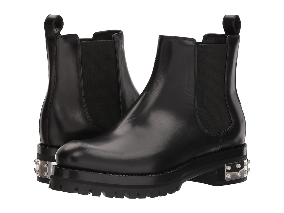 Alexander McQueen Mod Boot (Black/Black) Women's Dress Boots