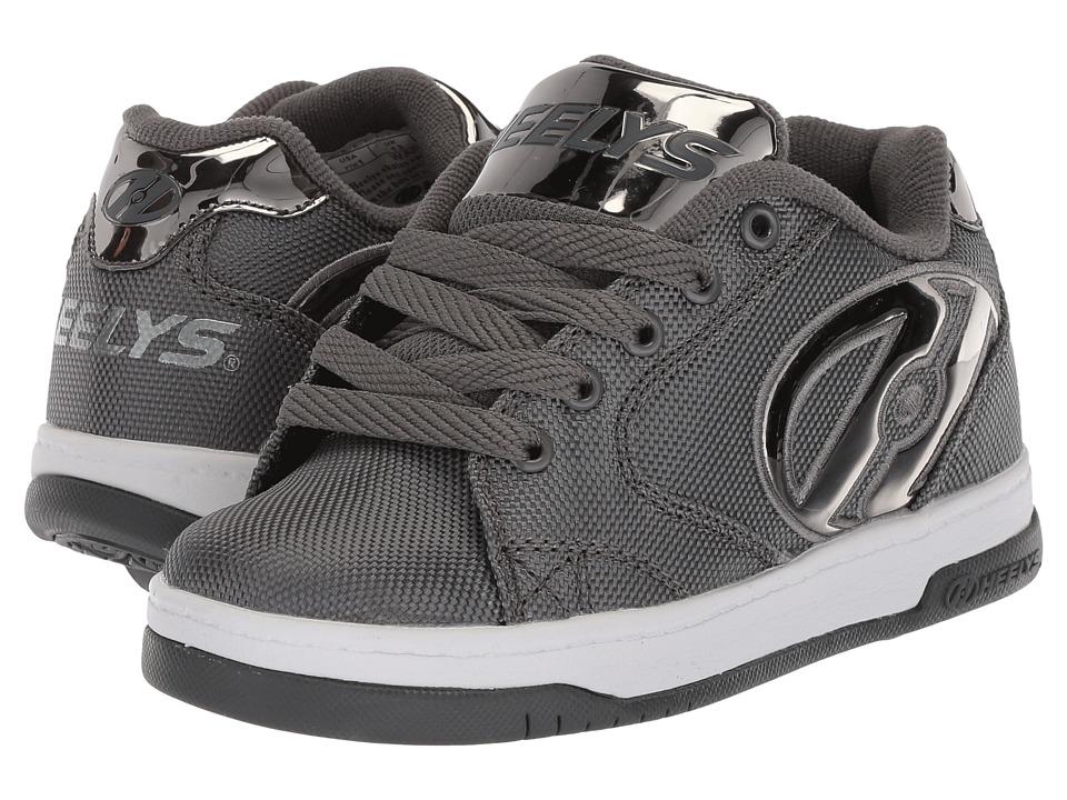 Heelys - Propel 2.0 Ballistic (Little Kid/Big Kid/Adult) (Charcoal Ballistic/Pewter Chrome) Boys Shoes