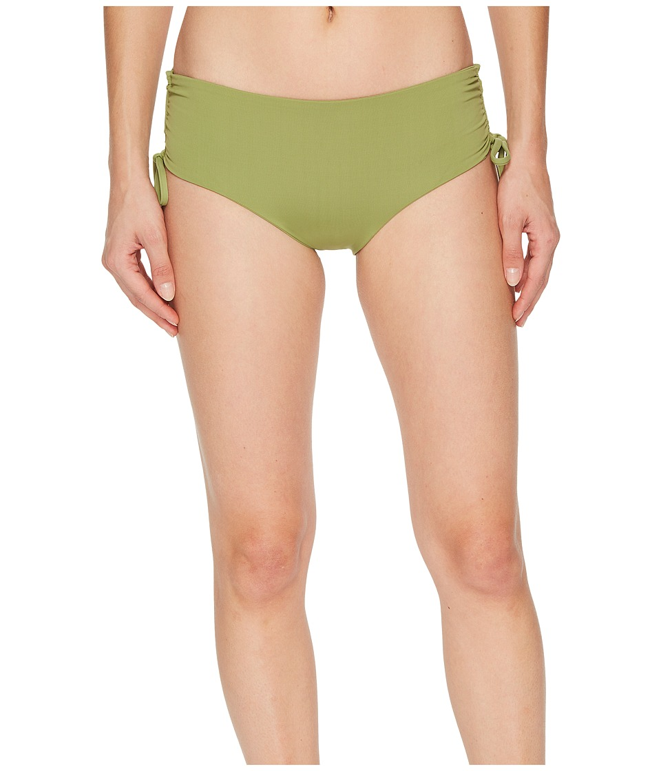 Seafolly Active Ruched Hipster Bottoms (Moss) Women