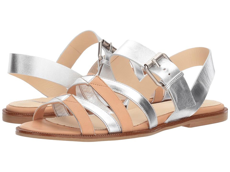 Jil Sander Navy - JN30001 (Tamponato 378/Nappa Laminata) Women's Sandals