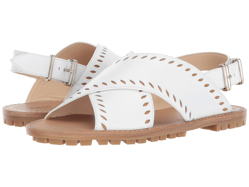 Jil Sander Navy - JN30020 (Plain Calf 101/Syn Nappa 378) Women's Sandals