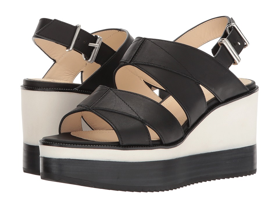 Jil Sander Navy - JN30010 (Tamponato 999/Black) Women's Sandals