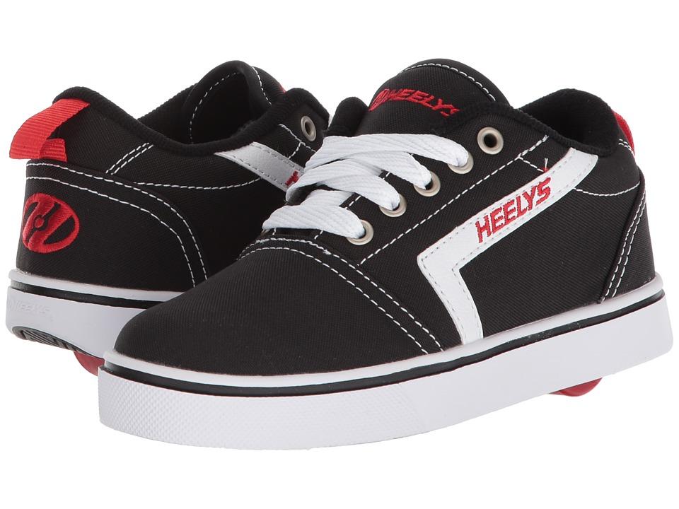 Heelys - GR8 Pro (Little Kid/Big Kid/Adult) (Black/White/Red) Boys Shoes