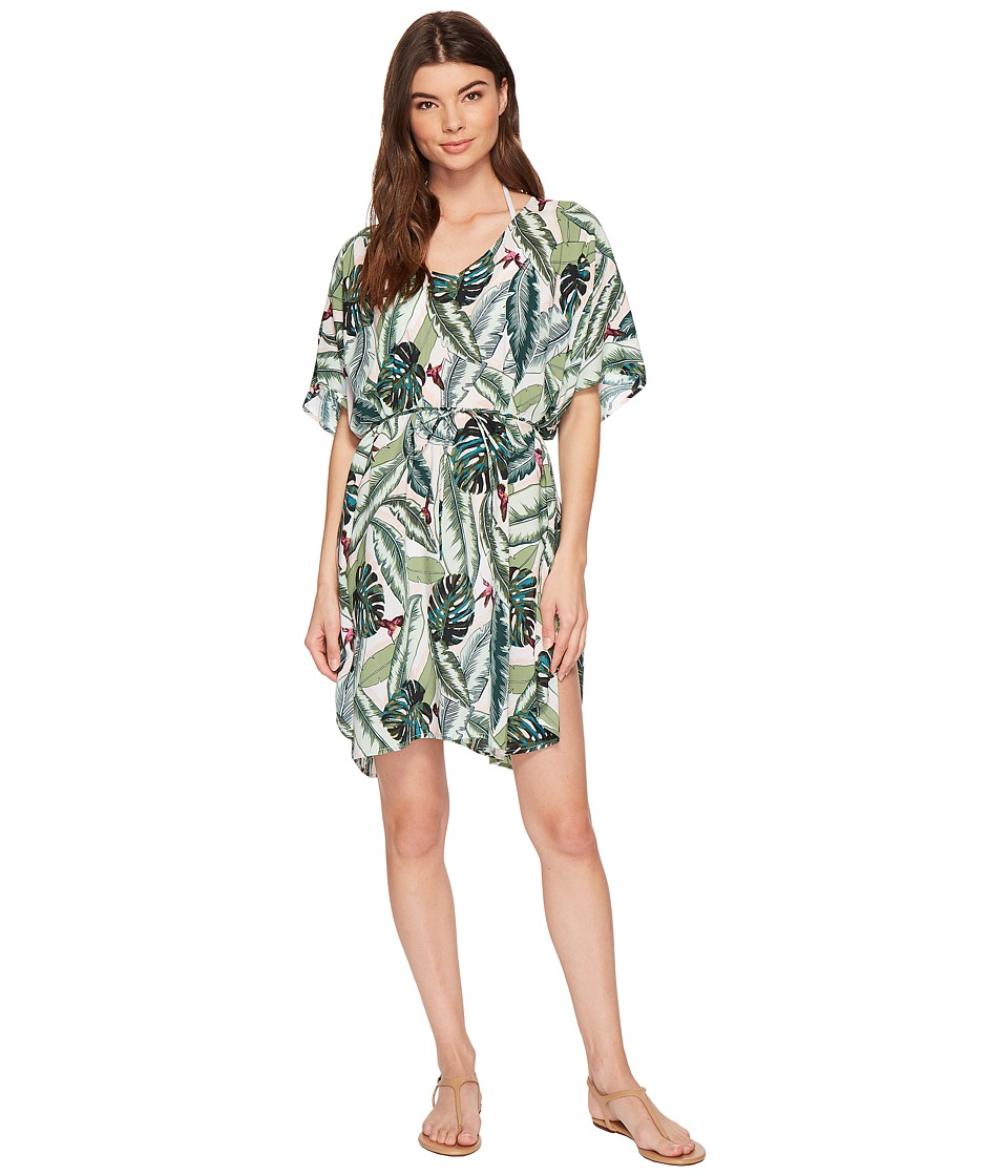 Seafolly Palm Beach Kaftan Cover-Up (Moss)