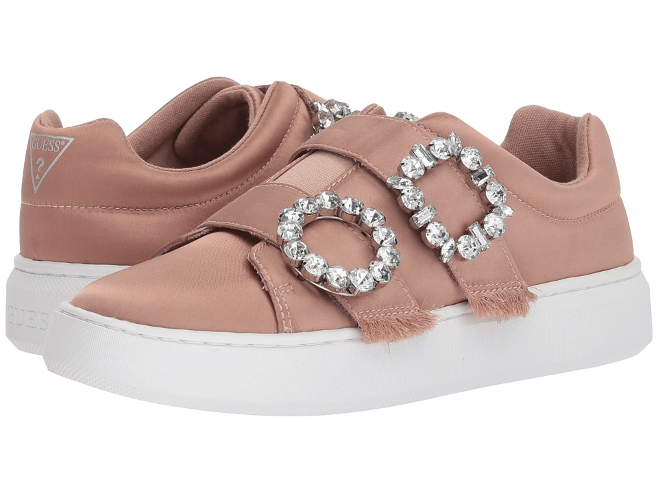 GUESS - Freeform (Dusty Rose Satin) Womens Shoes