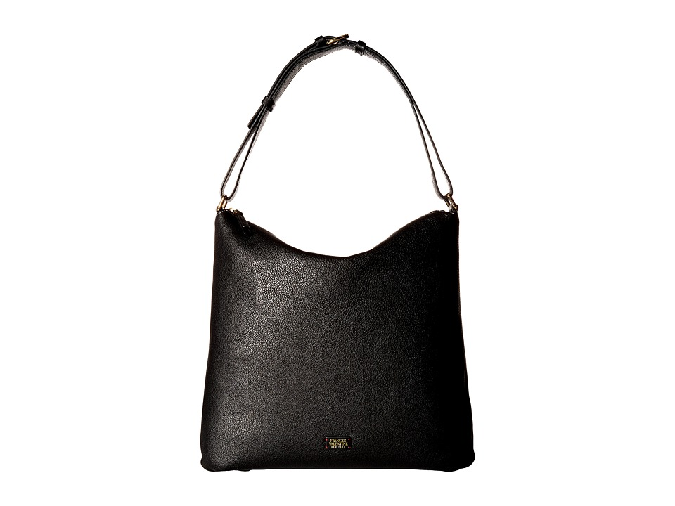 Frances Valentine - Simone Slouchy Hobo (Black) Hobo Handbags