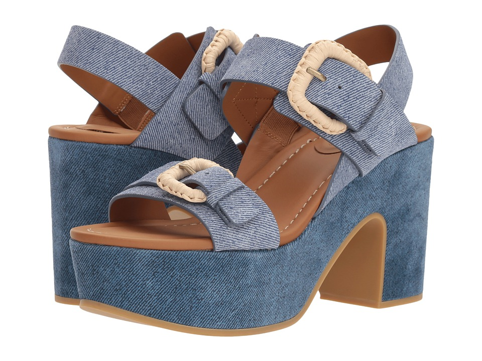 See by Chloe SB30091 (Crosta Jeans/Denim Chiaro/Crosta) High Heels