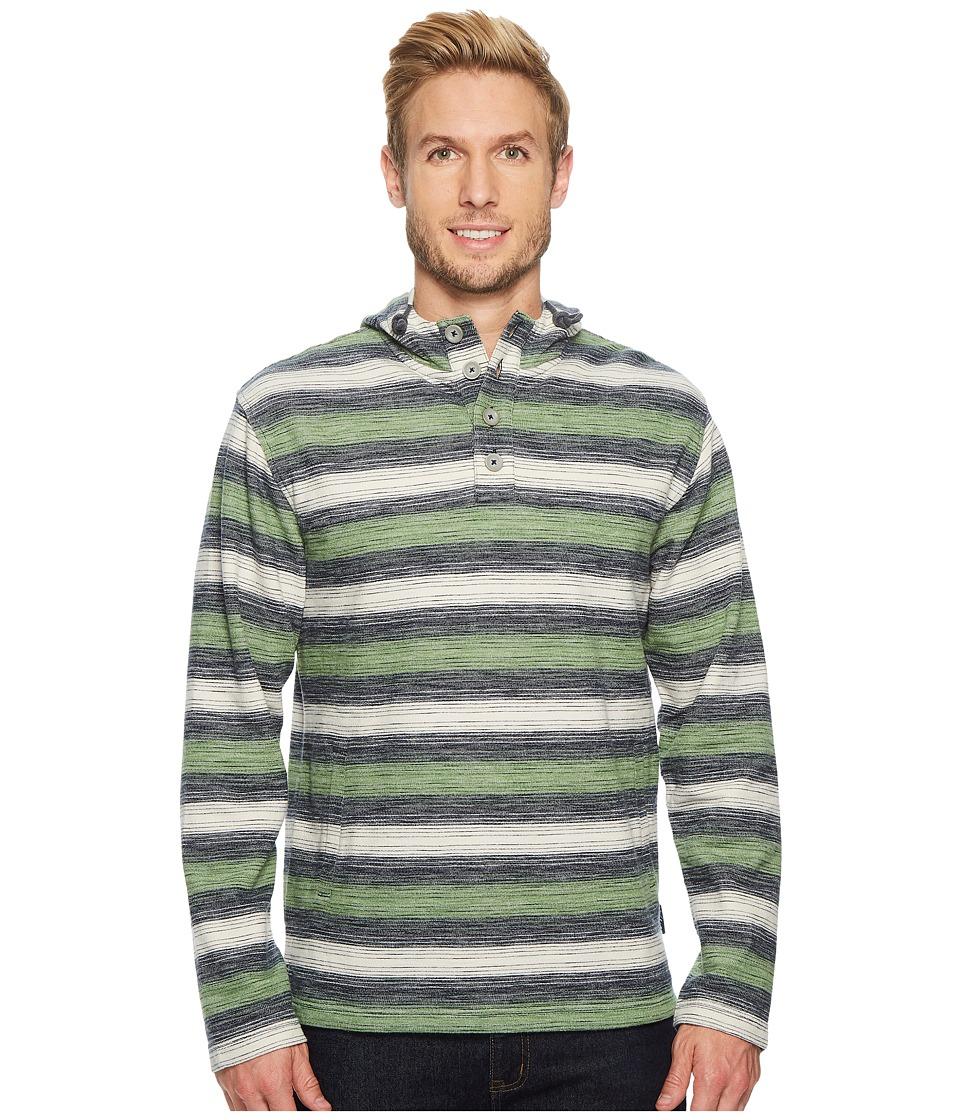Woolrich - Eco Rich Baja II Hoodie (Malachite Green Ombre) Mens Sweatshirt
