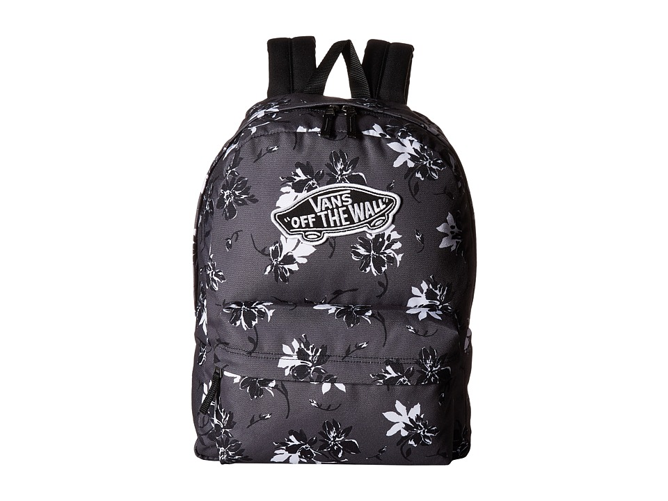 f1273f8041 Buy 2 OFF ANY vans realm backpack in black floral print CASE AND GET ...