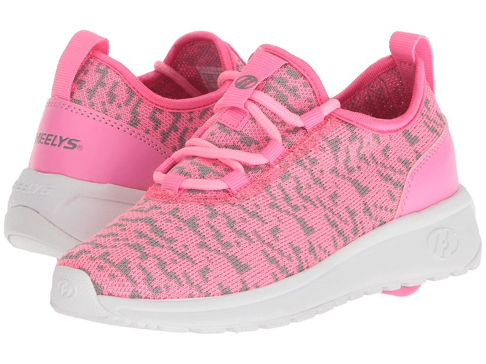 Heelys - Player (Little Kid/Big Kid/Adult) (Pink/White) Girls Shoes