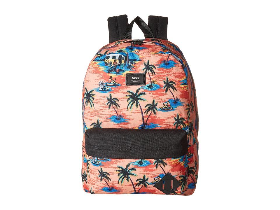 Vans Old Skool II Backpack (Dystopia Floral) Backpack Bags