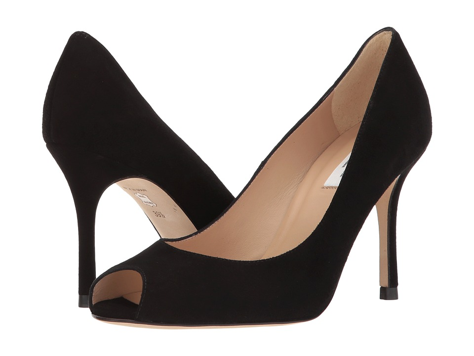 L.K. Bennett Margo (Black Suede) High Heels