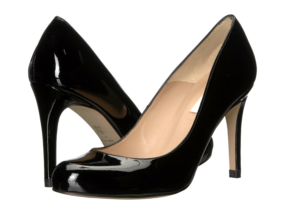 L.K. Bennett Stila (Black Patent) High Heels