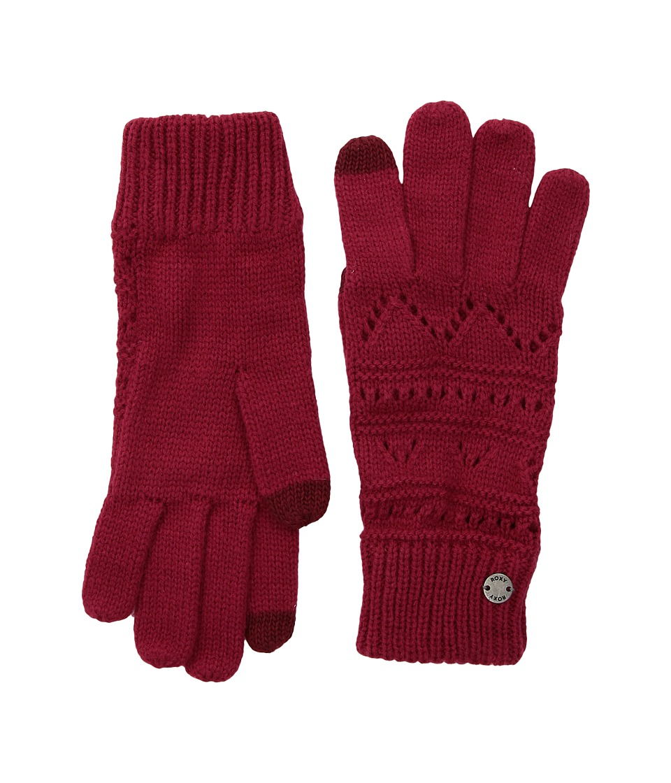 Roxy Challenge Gloves (Persian Red) Extreme Cold Weather Gloves