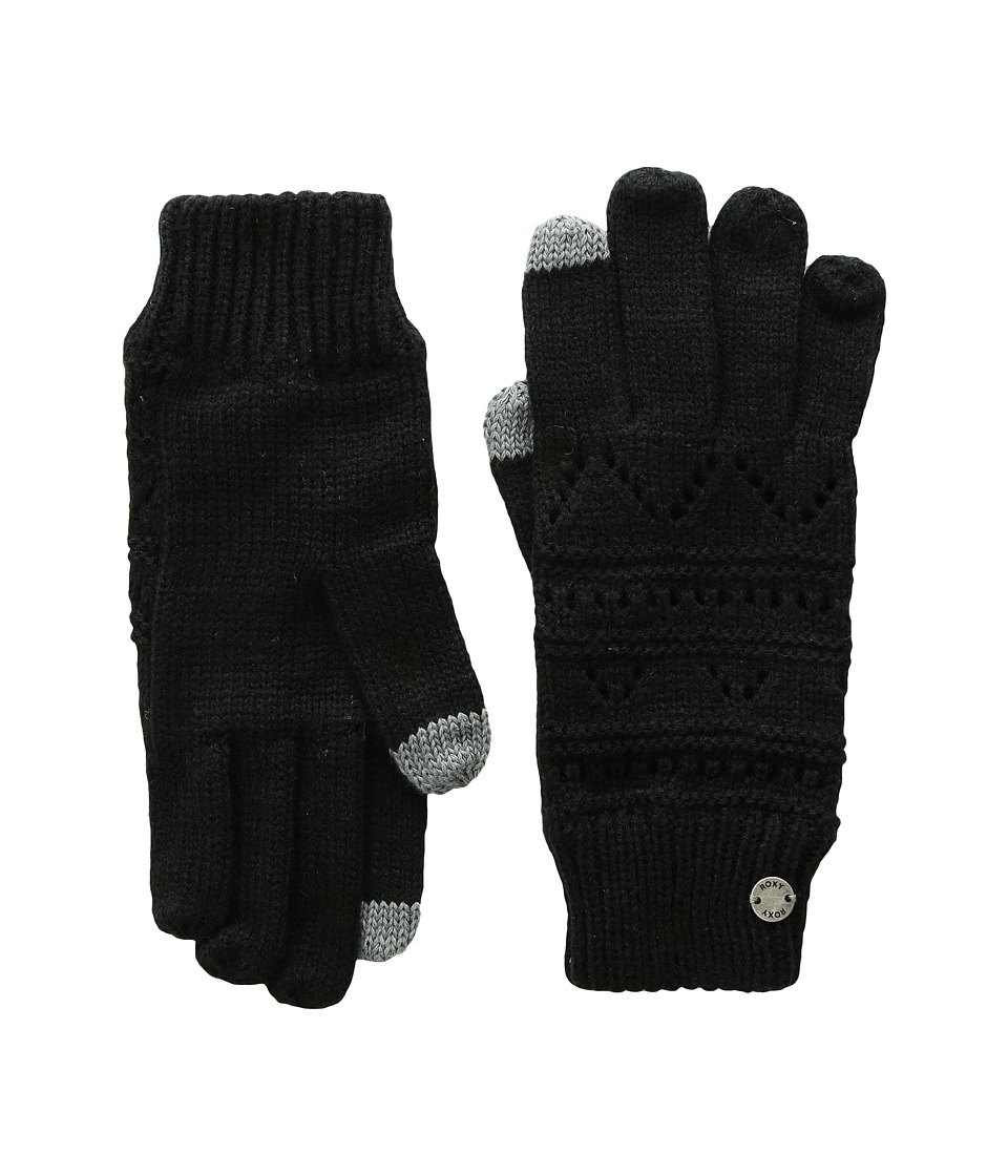 Roxy Challenge Gloves (Anthracite) Extreme Cold Weather Gloves