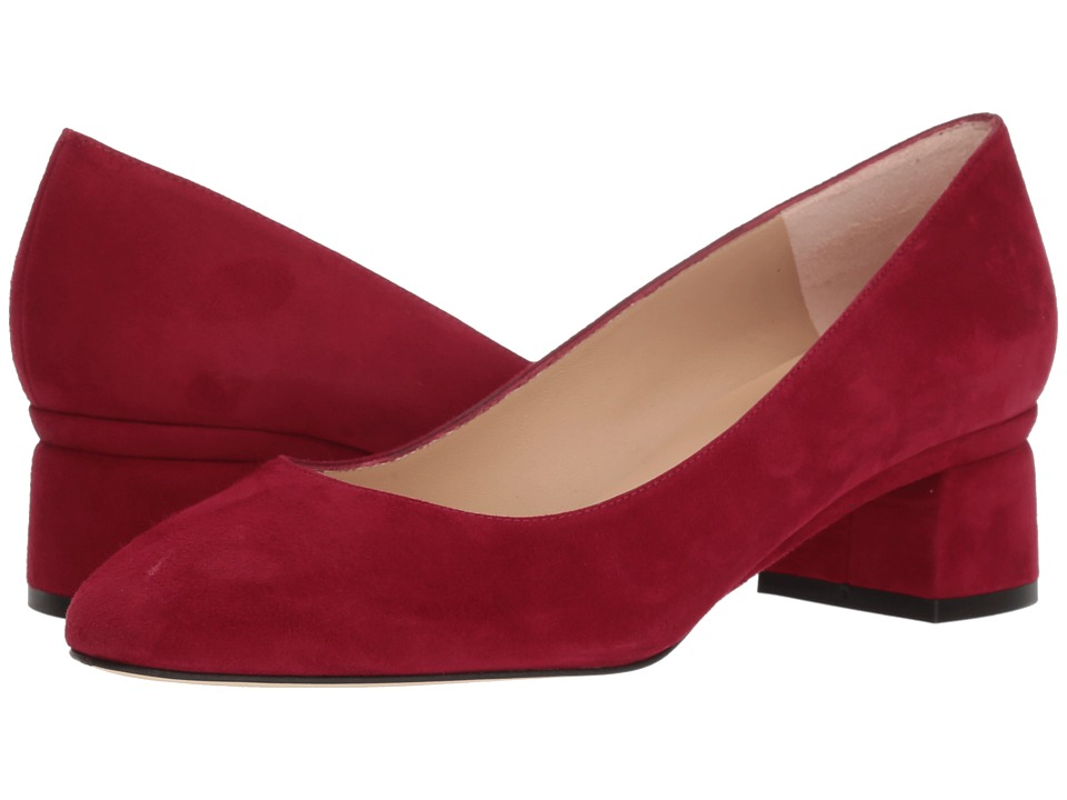 L.K. Bennett Nuriya (Red Poppy Suede) Women